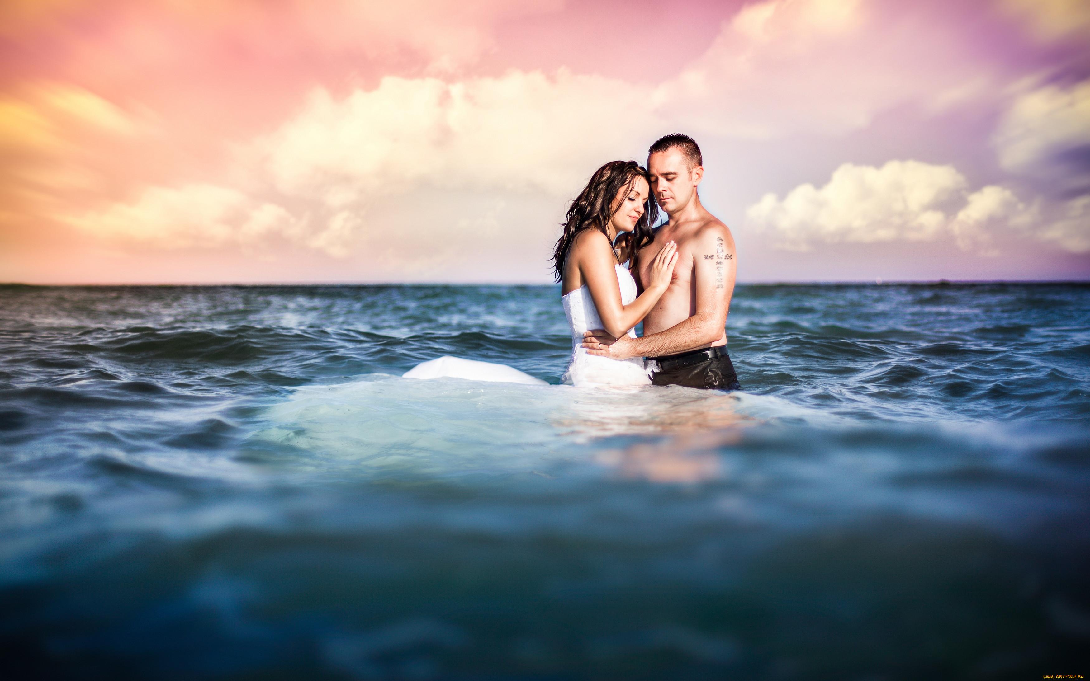 Картинка с любимым мужчиной на море